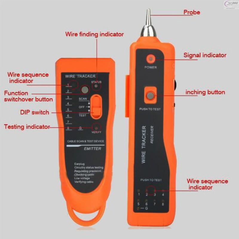 מקורי צלצלן גלאי הבודק חיווט כבלי טלפוניה וכבלי רשת XG-59