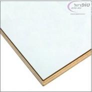 פלטת סנדביץ 17 ממ לשולחן מתקפל במידות 240X60 סמ בצבע לבן ללא קנט