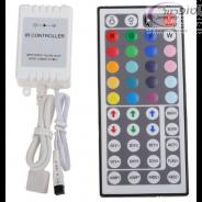 בקר 6 אמפר לפס לדים RGB   + שלט 48 כפתור במבצע.
