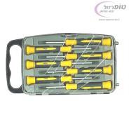 סט 7 מברגים אלקטרוניקה מקצועי מבית Klips כולל טורקס T5 T6 T7
