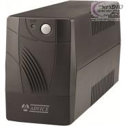 """אל פסק UPS אדוויס E800 למחשב חזק + מסך 24"""" תוצרת ADVICE"""