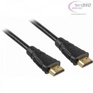 כבל HDMI איכותי תומך 1080P תומך 3D אורך 5 מטר במבצע. תומך 4k