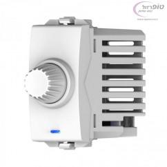 עמעם מחליף סיבובי 100-500W לבן / שחור ניסקו סוויץ'    1 מודול Nisko Switch