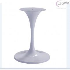 רגל שולחן טורינו לבנה