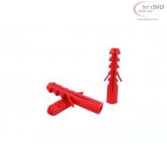 דיבל אדום סנפיר 10 ממ - 50 יחידות