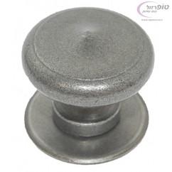 כפתור משיכה לשער ברזל כסוף עתיק