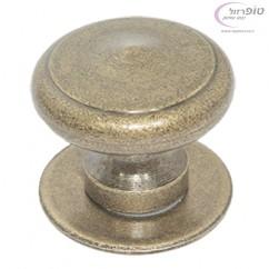 כפתור משיכה לשער ברזל ברונזה עתיק