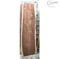 """פלטת גזע סיסם הודי באורך 210 ס""""מ ועובי כ 4 סמ . ברוחב כ 60-70  ס""""מ"""