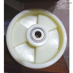 גלגל אקולון קידמי קוטר 195 ממ רוחב 50 ממ לעגלת משטחים