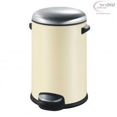 פח אשפה עגול למטבח 20 ליטר שמנת סגירה שקטה