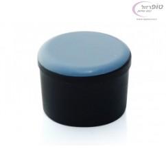 """רגלית / פקק עגול טפלון לרגל של כיסא או שולחן בקוטר 20 - 25  מ""""מ או בין 25 ל 30 מ""""מ."""