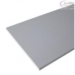 פלטת סנדביץ 17 ממ לשולחן מתקפל במידות 240X60 סמ בצבע לבן עם קנט PVC לבן