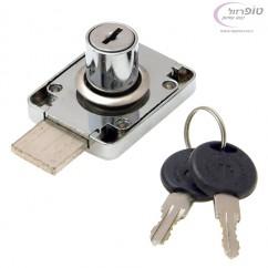 מנעול מגירה עם שני מפתחות