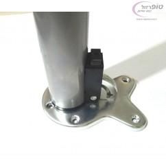 רגל שולחן / דלפק מתקפלת אורך 71 סמ + 3 סמ כוונון