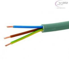 """כבל חשמל ירוק 3*1.5 מ""""מ XLPE"""