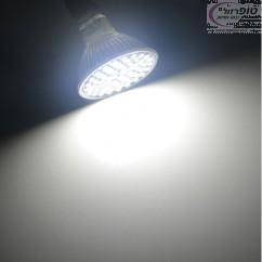 תאורת ספוט 60 לדים SMD 2835 הספק 7W מתח 12 וולט DC