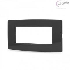 מסגרת SEE שחורה 1/2/3/4/6 מודול Nisko Switch