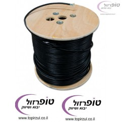 500 מטר כבל רשת cat7 מוגן  UV לשימוש חוץ outdoor NYY