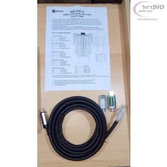 ערכה מלאה להכנת כבל HDMI עם ראש מתפרק תומך 4K בשיטת עשה זאת בעצמך כולל דף הוראות חיווט