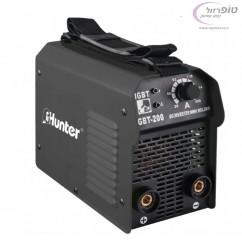 רתכת אלקטרונית 200 MINI IGBT HUNTER + צבת + כבלים