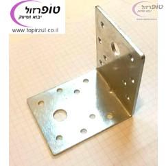 זווית חיזוק מברזל מגולוון 55*70*70  ממ