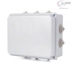קופסא T-24P  חשמל  70X150X110 ממ עם פטמות  IP55 NISKO