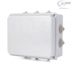 קופסא T-2P  חשמל  80X150X190 ממ עם פטמות  IP55 NISKO