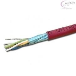 כבל רשת  cat7 איכותי FFTP במטר רץ או בגליל של 100 או 500 מטרים. למחיר כנס לדף המוצר