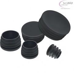 פקק פלסטיק עגול במבחר מידות לסגירה של פרופיל ברזל / אלומינים / פלסטיק