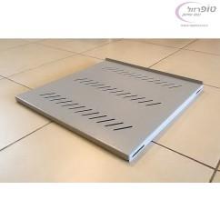 """מדף קבוע לארון תקשורת בעומק 450 / 600 / 800  /900 / 1000 מ""""מ"""