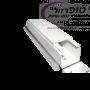 תעלת PVC לתקשורת ואו חשמל במידות שונות